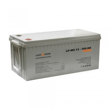 Аккумулятор LogicPower LP-MG 12V 180AH (LP-MG 12 - 180 AH)